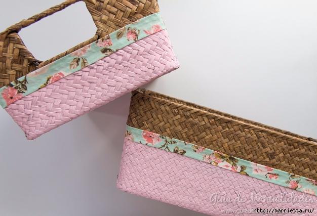 Декорирование плетеных корзинок (12) (626x427, 195Kb)