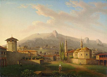 Мивилль Ханский дворец в Бахчисарае (Крым), 1816–1819 гг., (440x316, 93Kb)