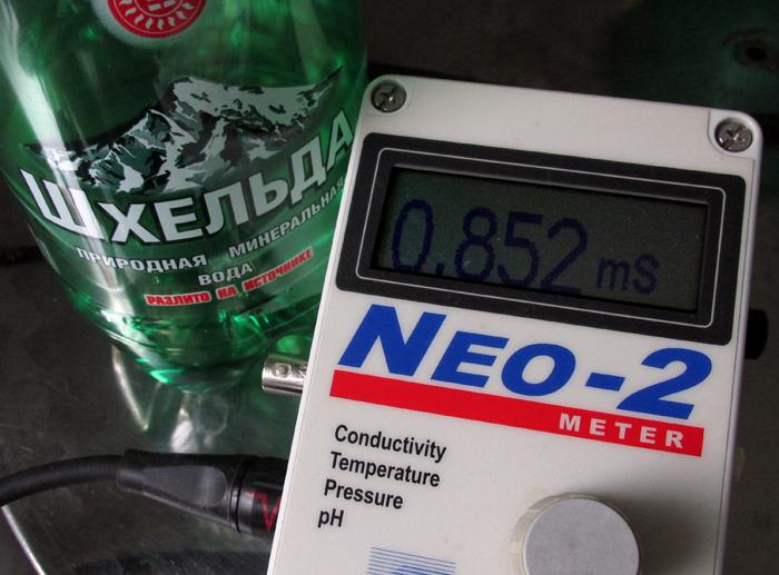 """Проводимость (электропроводность) минеральной воды """"Шхельда""""/683232_mineralka (700x517, 283Kb)"""