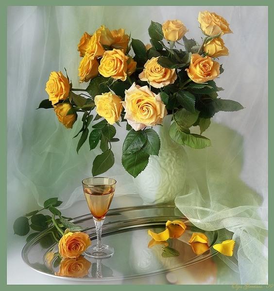 желтые розы (564x600, 93Kb)