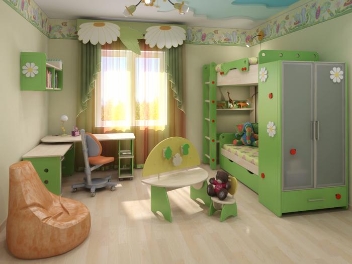 Детская комната 1 (700x525, 374Kb)