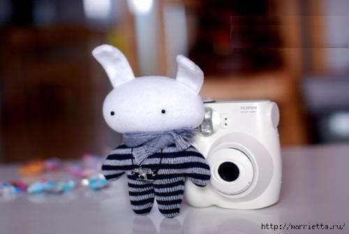 Шьем маленького кролика. Выкройка (1) (500x335, 80Kb)
