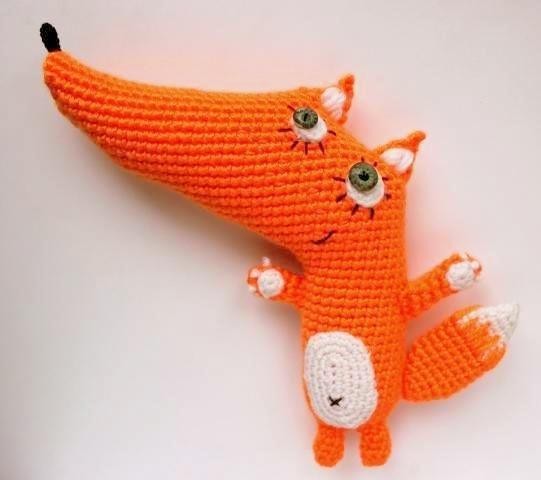 Вязание из лисички