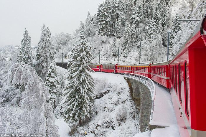 железная дорога в швейцарских альпах 3 (700x465, 394Kb)