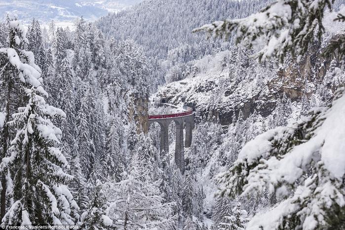 железная дорога в швейцарских альпах 5 (700x466, 397Kb)