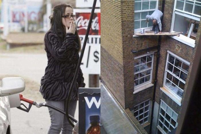 Смотри, как я могу! Фотографии людей, сделанные за секунду до их глупой смерти