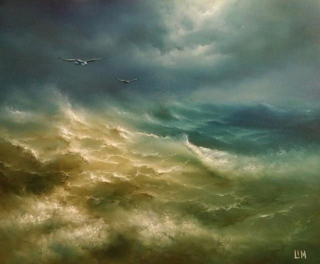 Осенний шторм (640x527, 227Kb)