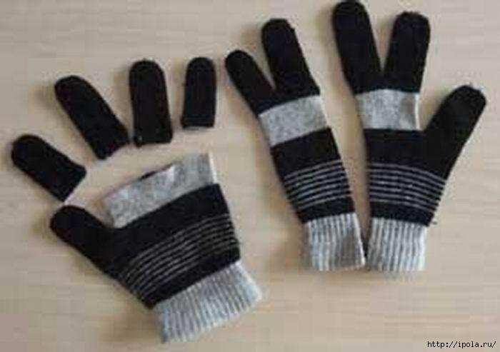 Из чего можно сделать перчатки в домашних