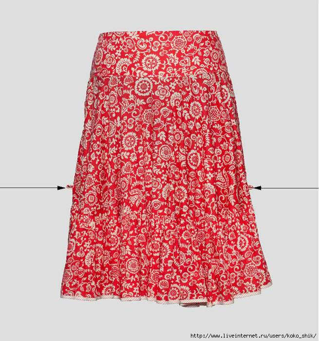 Шьем юбку мастер класс с фото #8