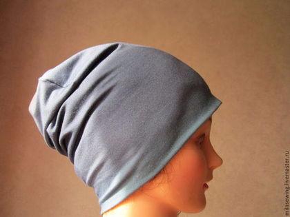 Как сшить своими руками трикотажную шапку