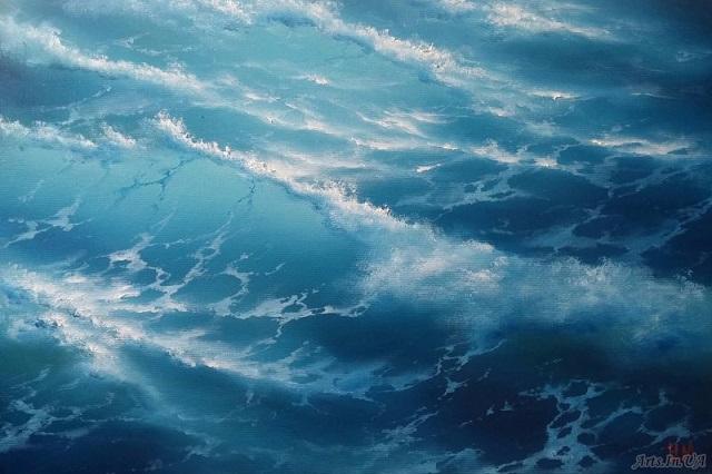 Голубые волны (640x426, 240Kb)