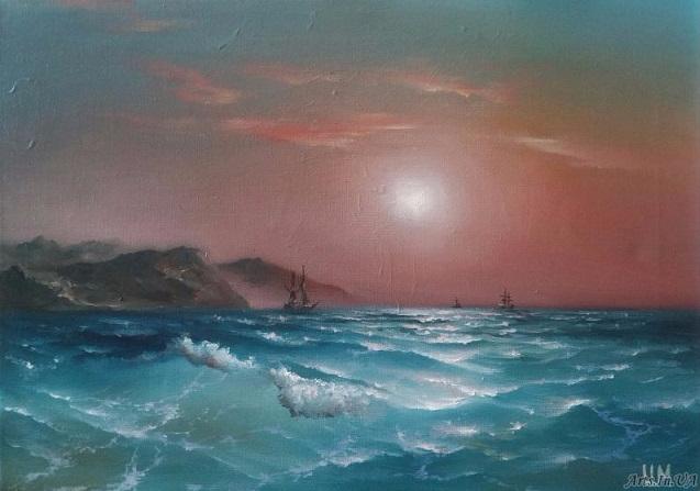 Южное море (637x447, 207Kb)