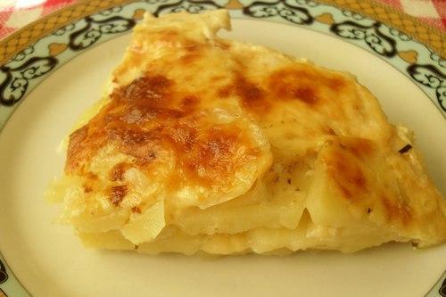 Запеканка с картофелем фаршем и сыром в духовке с фото