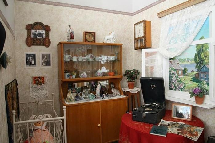 Интерьер советских квартир 50-70-х годов фото