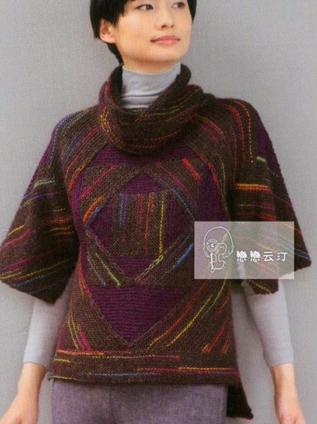 пэчворк пуловер 1 (451x604, 239Kb)