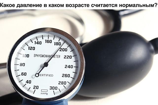 Какое давление в каком возрасте считается нормальным (640x426, 57Kb)