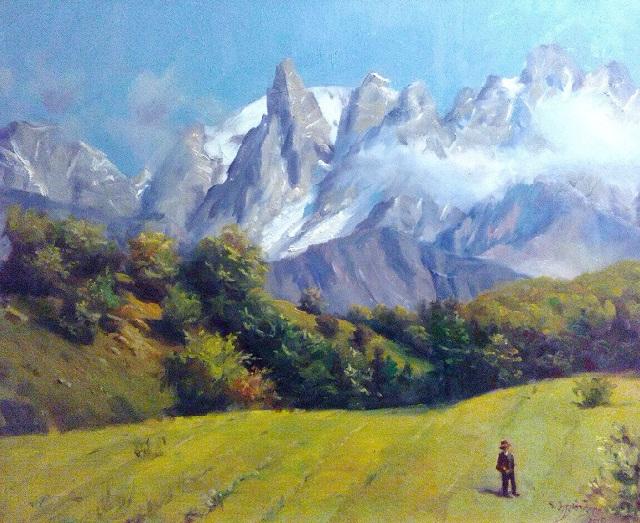 Кавказские горы. сванетия, Грузия (640x523, 473Kb)