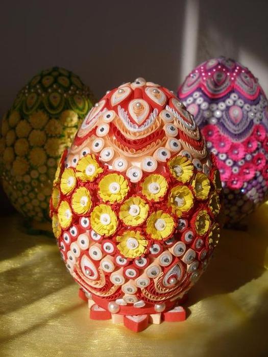 Пасхальные яйца своими руками: фото, видео, мастер-классы