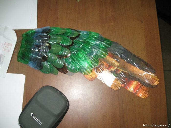 Хвост павлина своими руками