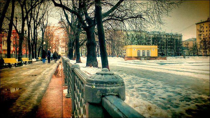 Сквер у Патриаршиих