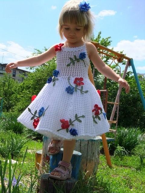 вязаное платье для девочки 2 (480x640, 104Kb)