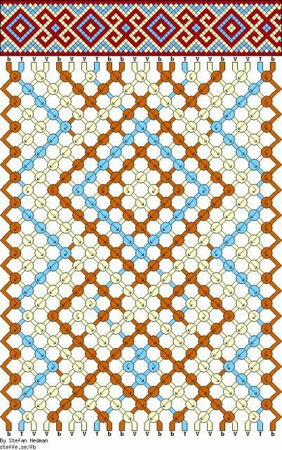 геометрический узор | Плетение