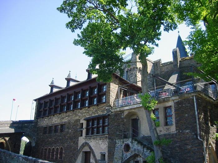 Замок Кохем под Райхсбургом. Германия. 11242