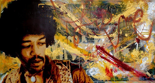 40 лет без Джимми Хендрикса 3