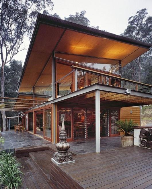 Горный домик построенный студией Cplusc Architects