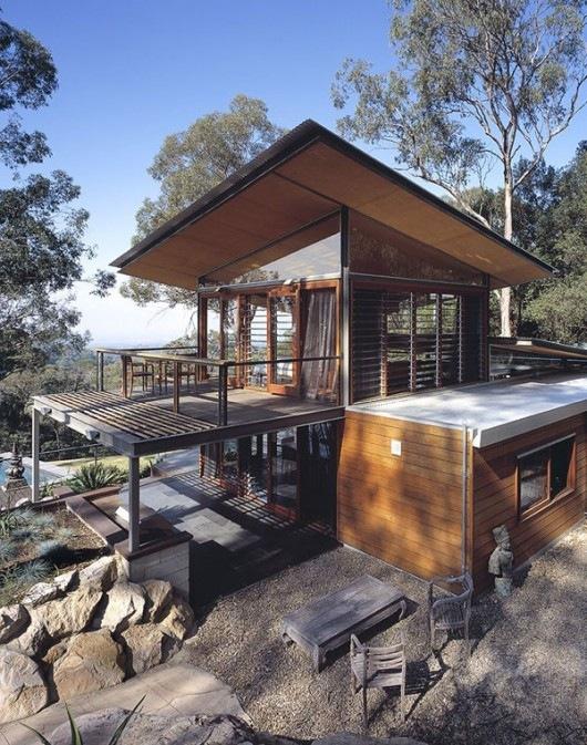 Домик в горах от студии Cplusc Architects 12