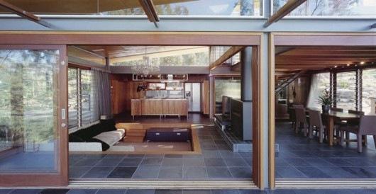 Домик в горах от студии Cplusc Architects 5