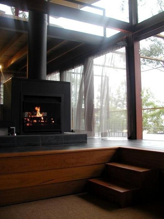 Домик в горах от студии Cplusc Architects 7