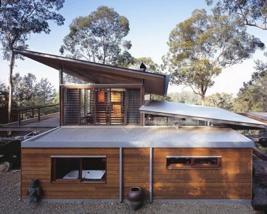 Домик в горах от студии Cplusc Architects 10