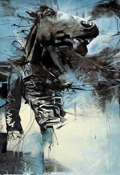 картины удивительного художника Раса Миллса (Russ Mills) 13