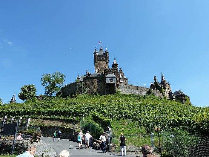 Замок Кохем под Райхсбургом. Германия. 50692