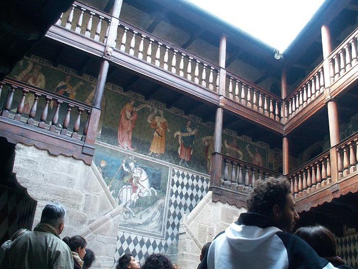 Итальянский замок Фенис (Castello di Fenis) 26407