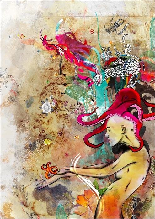 Archan Nair  - арт-директор и иллюстратор, проживающий в Нью-Дели, Индия 21