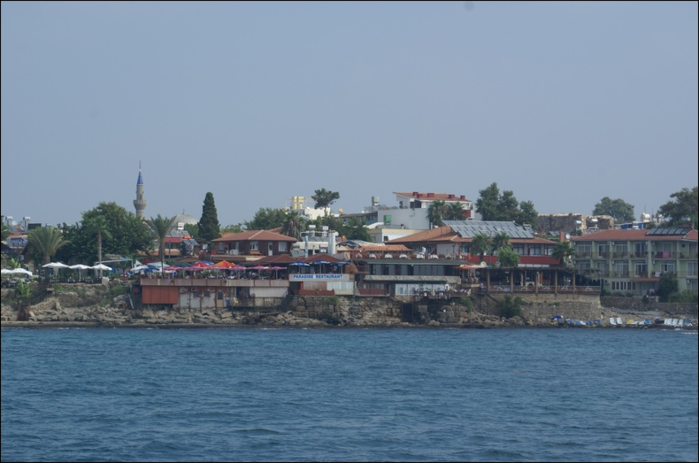 Турецкий древний город Сиде