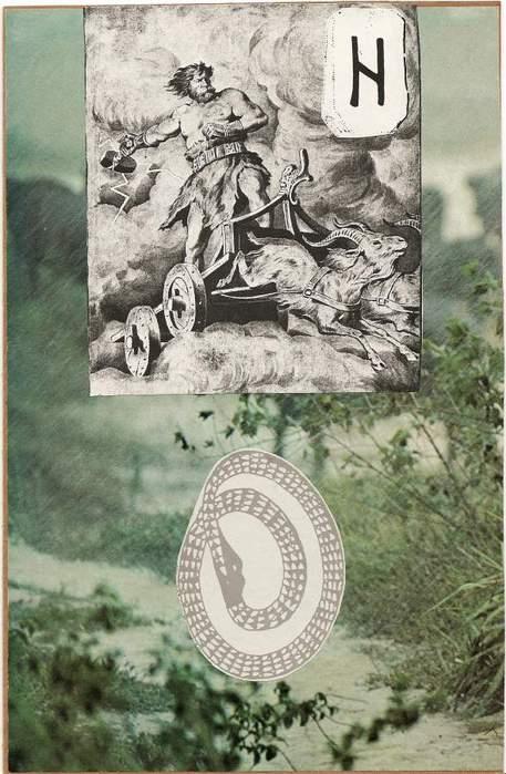 Старший Футарк. Скандинавская мифология. 64292519_1285046100_hagalaz
