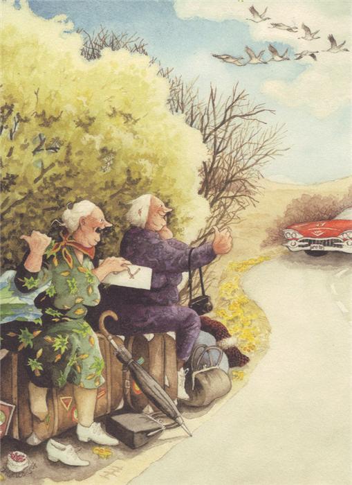 веселые старушки