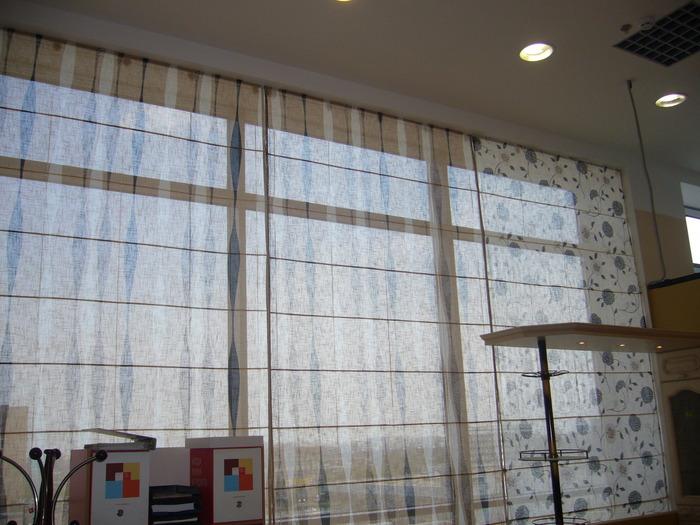 Шторы на витражные окна фото