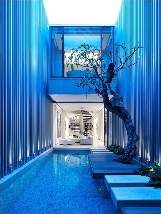 Дом в стиле минимал на Blair Road от студии Ong & Ong 8