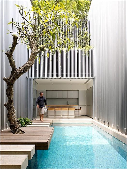 Дом в стиле минимал на Blair Road от студии Ong & Ong 17