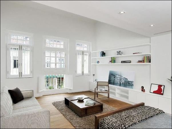 Дом в стиле минимал на Blair Road от студии Ong & Ong 24