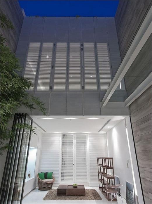 Дом в стиле минимал на Blair Road от студии Ong & Ong 30