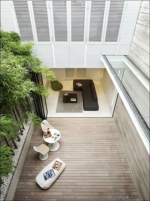Дом в стиле минимал на Blair Road от студии Ong & Ong 34