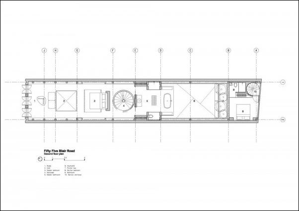 Дом в стиле минимал на Blair Road от студии Ong & Ong 3