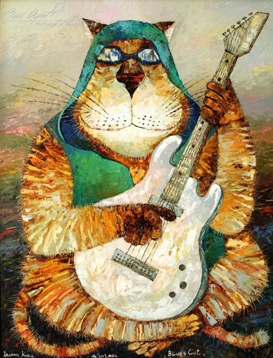 Blues cat (534x700, 87 Kb)
