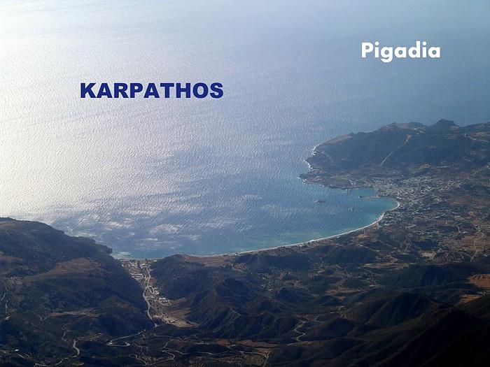 Остров Карпатос - высокие горы, традиционные поселки, пляжи на юге... 83927