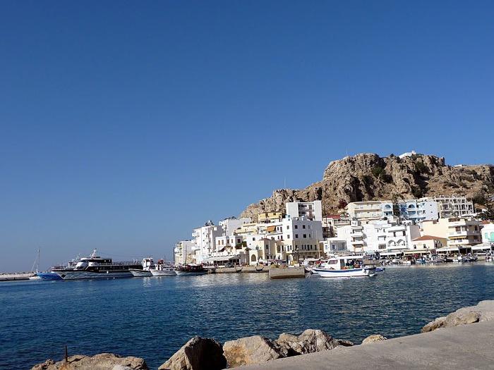 Остров Карпатос - высокие горы, традиционные поселки, пляжи на юге... 29391